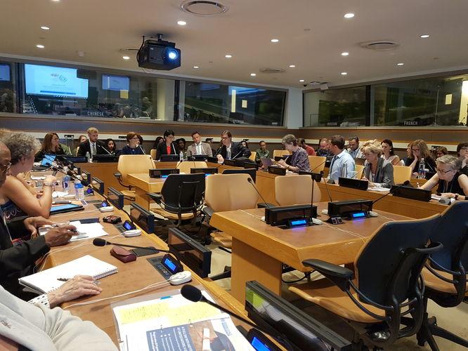 UN immediately accept first SDG Accord report recommendation at prestigious HLPF