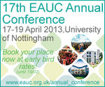 EAUC launches 17th Annual Conference with great value delegate rates for EAUC Members