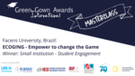 International Green Gown Awards Masterclass - Facens University - Student Engagement image #1
