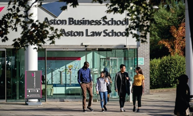 Aston University named Guardian's University of the Year