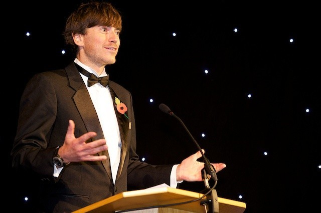 Green Gown Awards host, Simon Reeve � Author and TV presenter