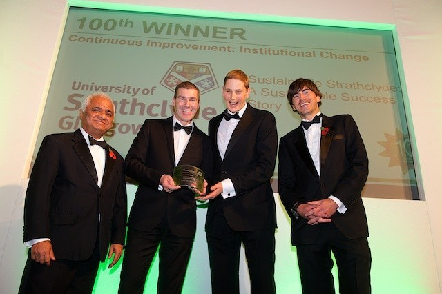 The 100th Green Gown Award winner � University of Strathclyde � Continuous Improvement: Institutional Change