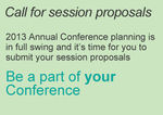 Call for Conference sessions
