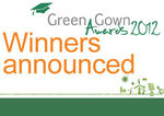 Green Gown Awards 2012 Winners Announced