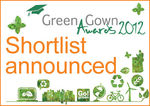 Green Gown Awards 2012 shortlist announced