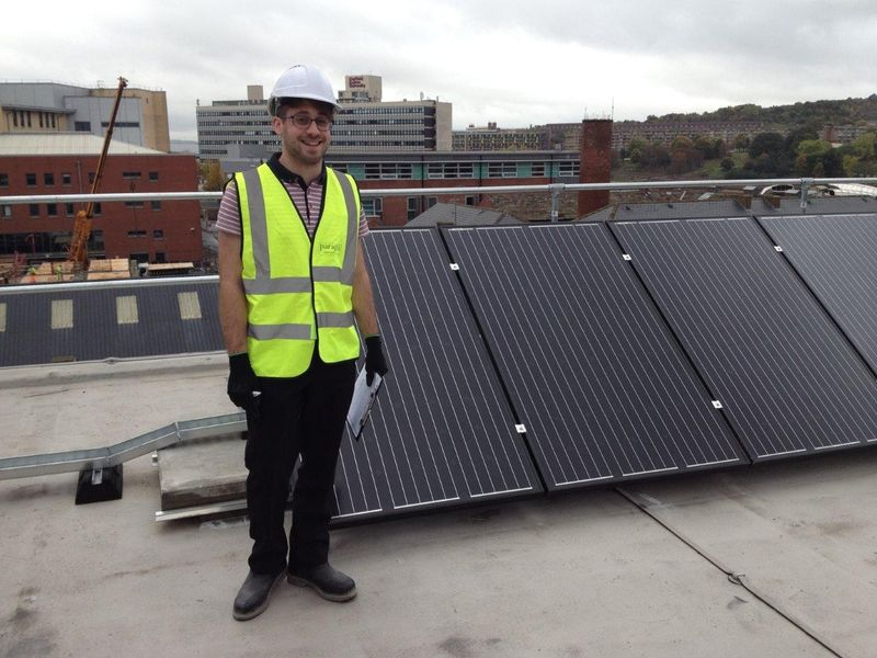 Meet a... Energy and Sustainability Placement Student - Adam Caspi