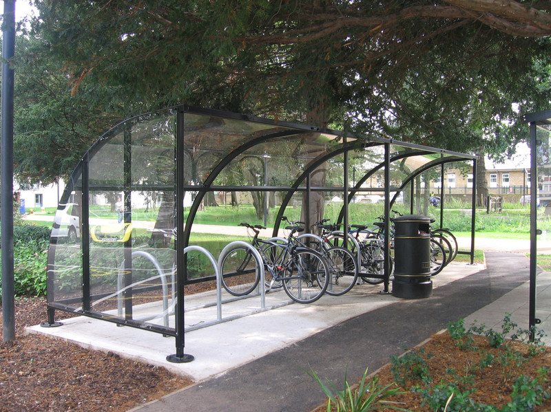 Bicycles at Whitelands College