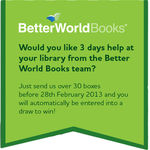 Would you like 3 days help at your library from the Better World Books team?  image #1