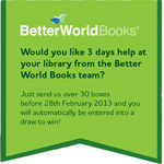 Would you like 3 days help at your library from the Better World Books team?