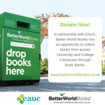 EAUC and Better World Books Announce Partnership