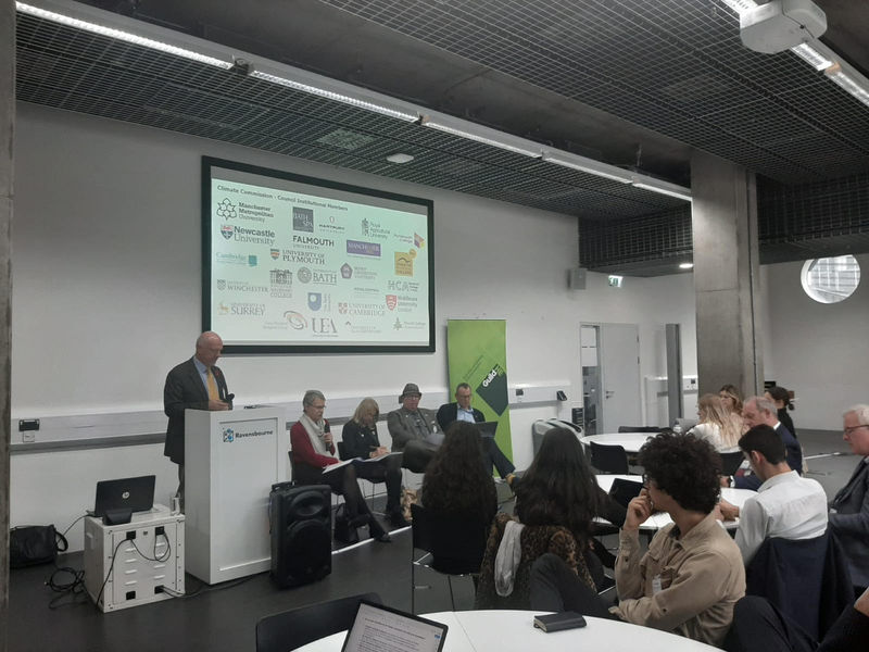 The Climate Commission for UK Higher and Further Education Students and Leaders was launched