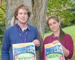 Organisers Heather Crump and Chris Woodfield