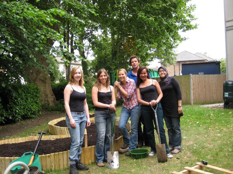 Kingston University Community Gardens