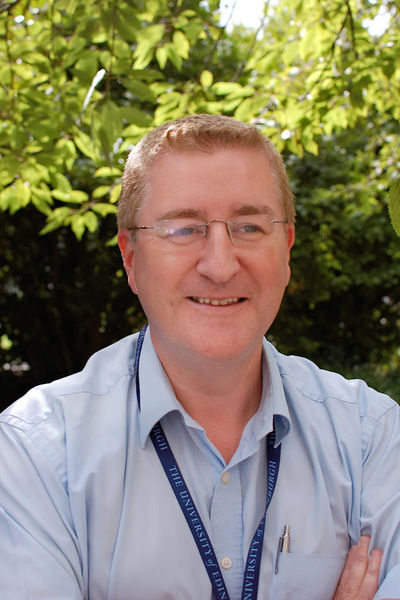Dave Gorman, University of Edinburgh