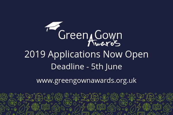 2019 UK and Ireland Green Gown Awards Open for Stage 1 Applications