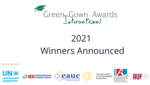 2021International Green Gown Awards Winners