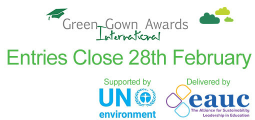 ​2018-2019 International Green Gown Awards Launched