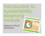 EAUC and Marshall ACM launch a free sustainability elearning resource for Members
