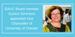 EAUC Board Member Eunice Simmons appointed Vice Chancellor at University of Chester image #1