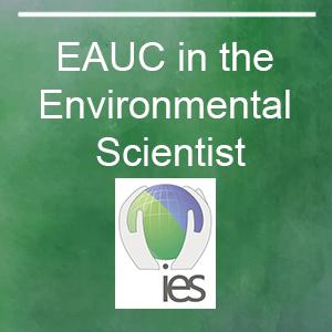 EAUC Featured in Environmental Scientist