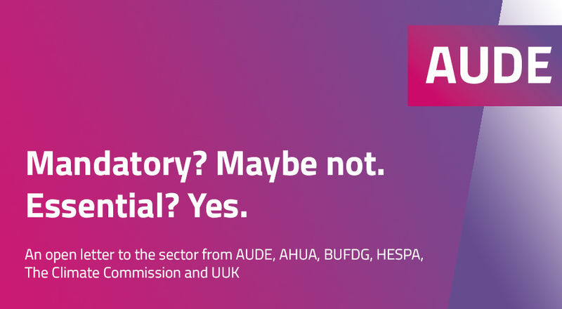 New EMR report and statement from AUDE and partners
