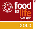 Green Gown Award Ceremony 2013 claims Gold Food for Life Catering Mark
