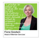 EAUC 2013 Staff Sustainable Christmas Pledges - the follow up