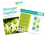 Stronger together - Annual Report and Annual General Meeting 2013