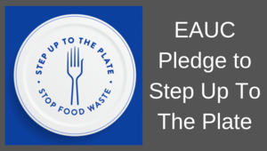 EAUC signs world-leading government pledge to help halve food waste