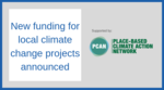 New funding for local climate change projects announced image #1