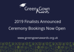 Green Gown Awards UK & Ireland 2019 Finalists