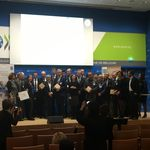 Celebrations for the Winners of the 2015 Troph�es des campus responsables