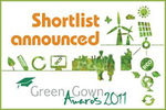 Green Gown Awards 2011 shortlist announced