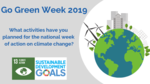 Go Green Week - What is happening? image #1