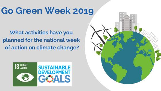 Go Green Week - What is happening?