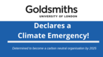 Goldsmiths pledges action on climate emergency