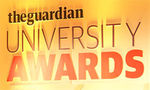Jamie Agombar, NUS, recognised for great work amongst EAUC Members at the Guardian University Awards