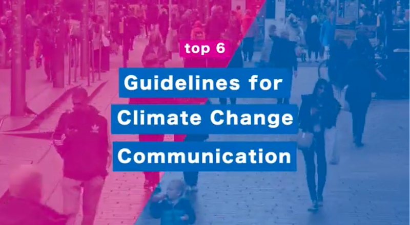 Sustainable Strathclyde release new Guidelines for Climate Change Communication
