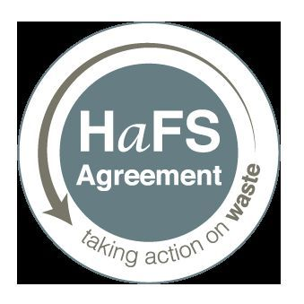 We're supporting The Hospitality and Food Service Agreement (HaFSA) to help reduce unnecessary food waste.