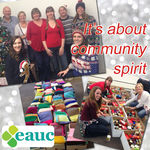 Hamper Scamper fills EAUC staff with Christmas spirit!