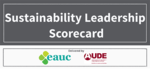 Launching the Sustainability Leadership Scorecard