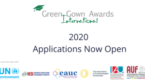 2020 International Green Gown Awards Open