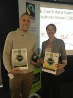 City College Plymouth named best Fairtrade college at South West Fairtrade Business Awards