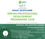Internal EMS Auditor Course