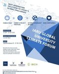 Call for university student climate change proposals - Global Challenges, Local Solutions
