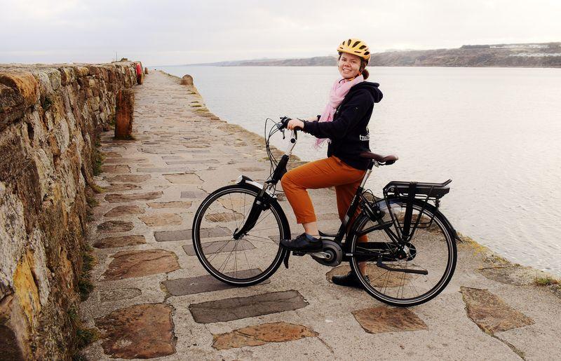 Lara Fahey, Cycling Scotland / University of St Andrews