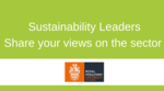 Share your views on the merits of accreditation programs for sustainability