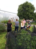 LUEG Garden Visit