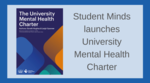 University Mental Health Charter launched image #1