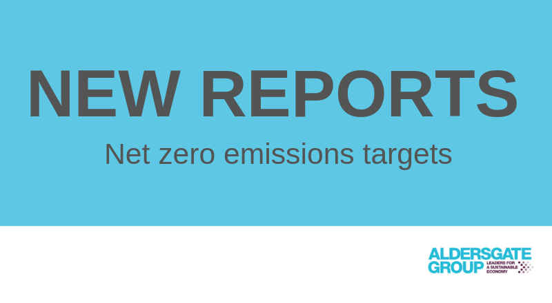 New UK reports show opportunity in net zero emissions targets